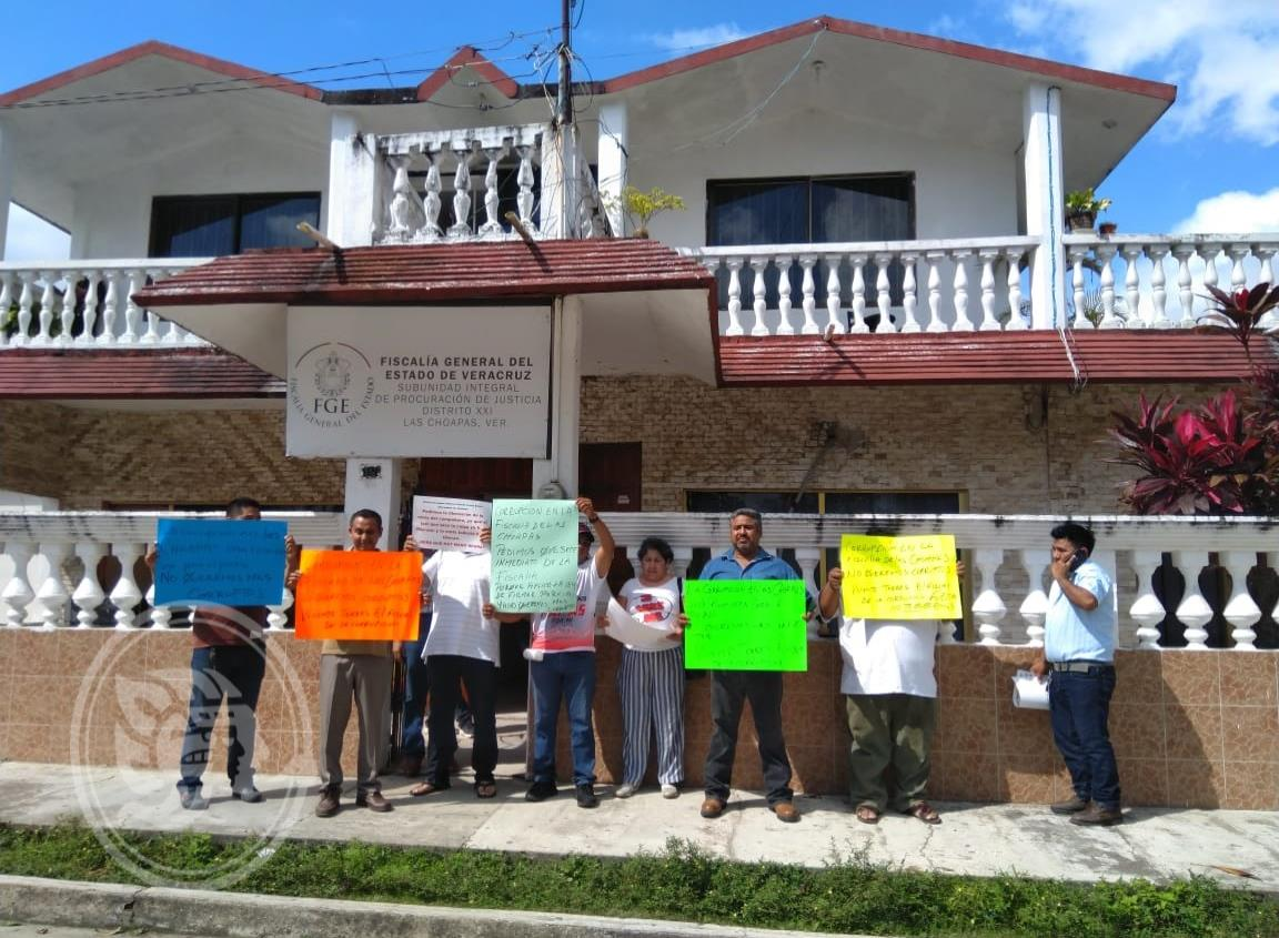 Taxistas de Agua Dulce preparan manifestación en Las Choapas