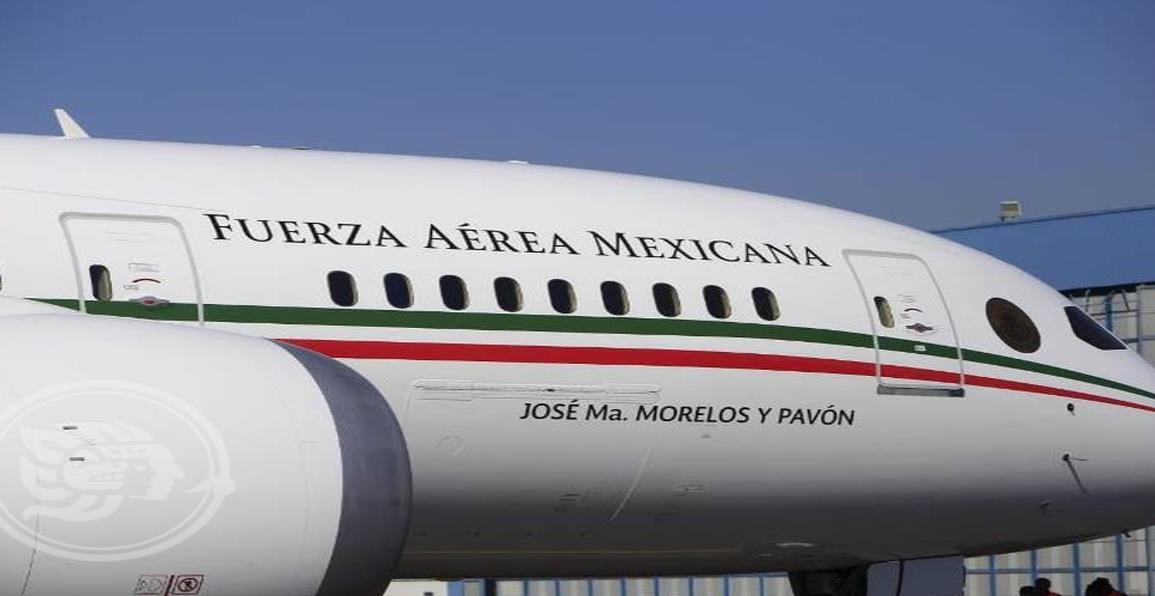 ¿Qué pasará con el avión presidencial de México?
