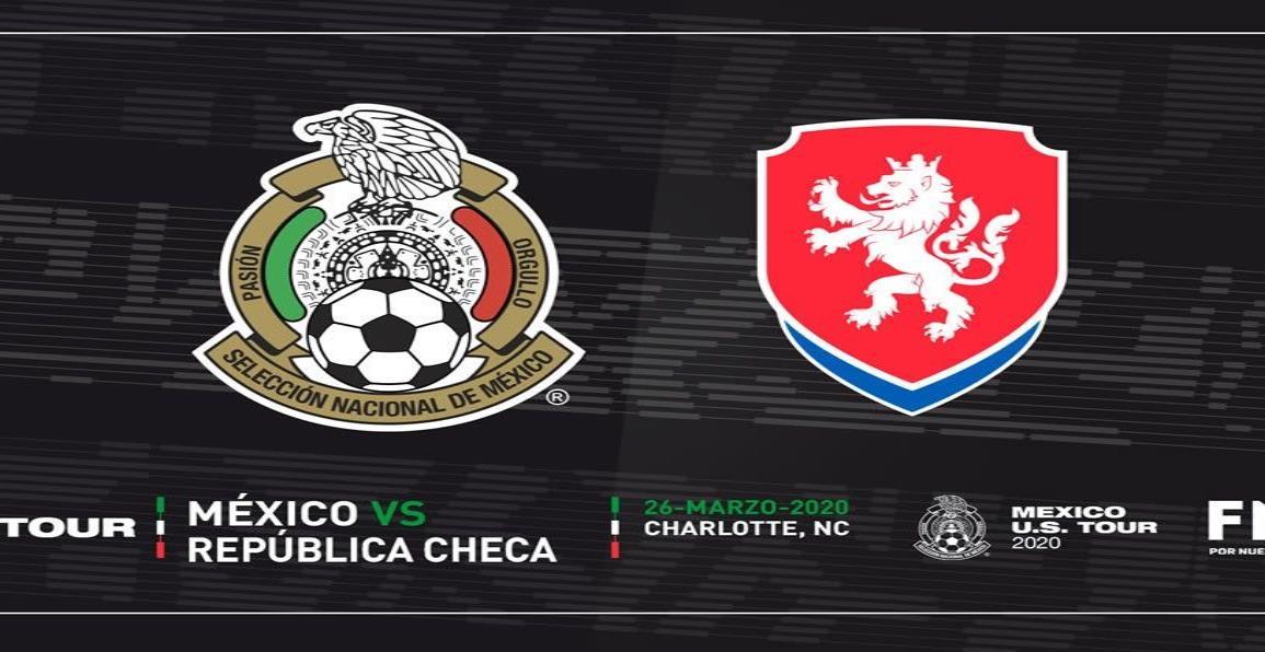 Confirman juegos de Selección Mexicana ante República Checa y Grecia