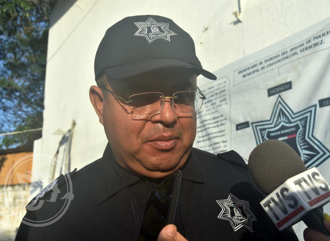 Resueltos los cortinazos, dice jefe interino de la Policía de Coatzacoalcos