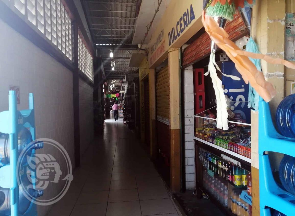 Persisten las bajas ventas en el mercado Puerto México