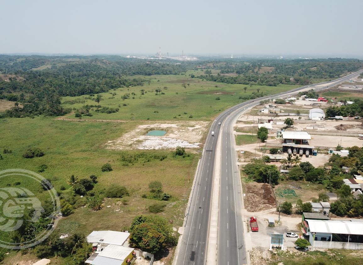 Pemex dona más de 200 hectáreas para Proyecto Interoceánico