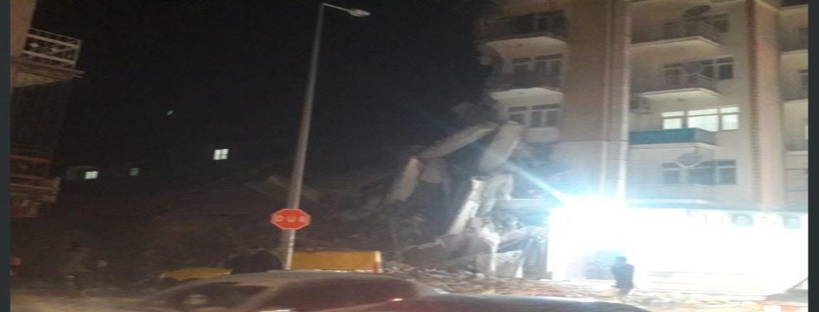 Sismo de 6.8 remece el este de Turquía, dejando preliminarmente 4 fallecidos