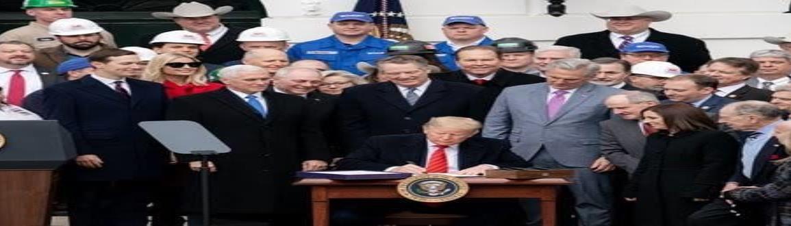 Terminamos con la pesadilla del TLCAN, dice Trump al firmar el T-MEC