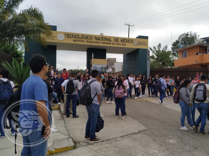 Se calma conflicto en Tecnológico de Poza Rica