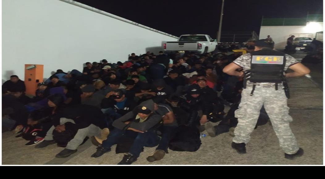 Rescatan a 292 migrantes centroamericanos en el sur de México