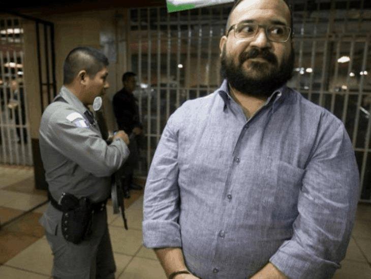 Sin especificar delito, promueve Javier Duarte un nuevo amparo
