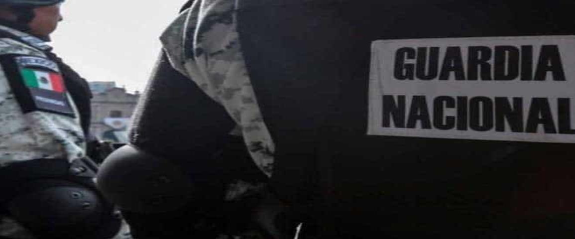 Incauta la Guardia Nacional 260 kilos de mariguana en la cajuela de un carro