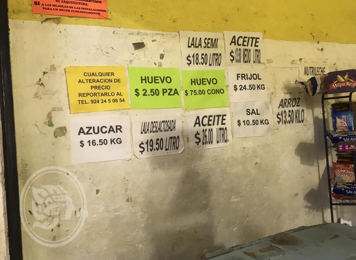 Alcanza la reja huevo precio de 75 pesos en Acayucan