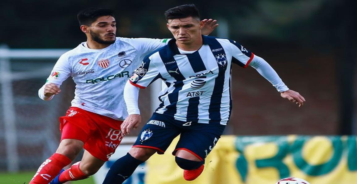 Matías Kranevitter, debutó con Rayados Sub 20 en goleada 1-7 sobre Necaxa