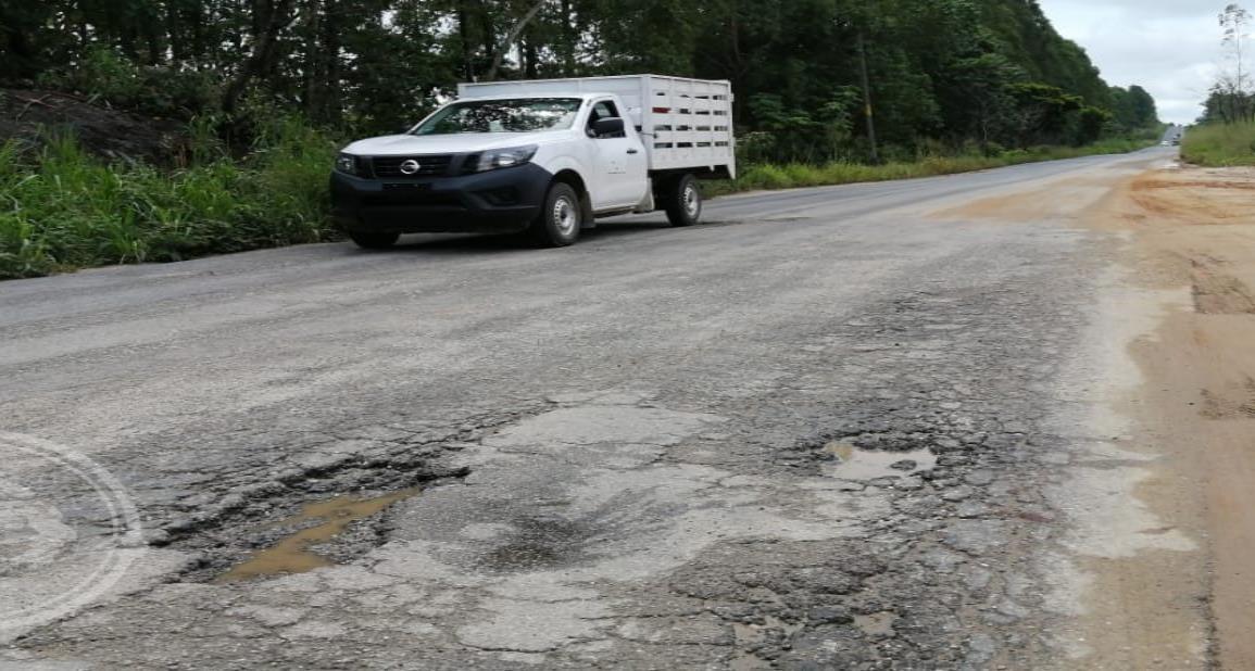 Agua Dulce gestionará rehabilitación de carretera Paralelo-Las Choapas