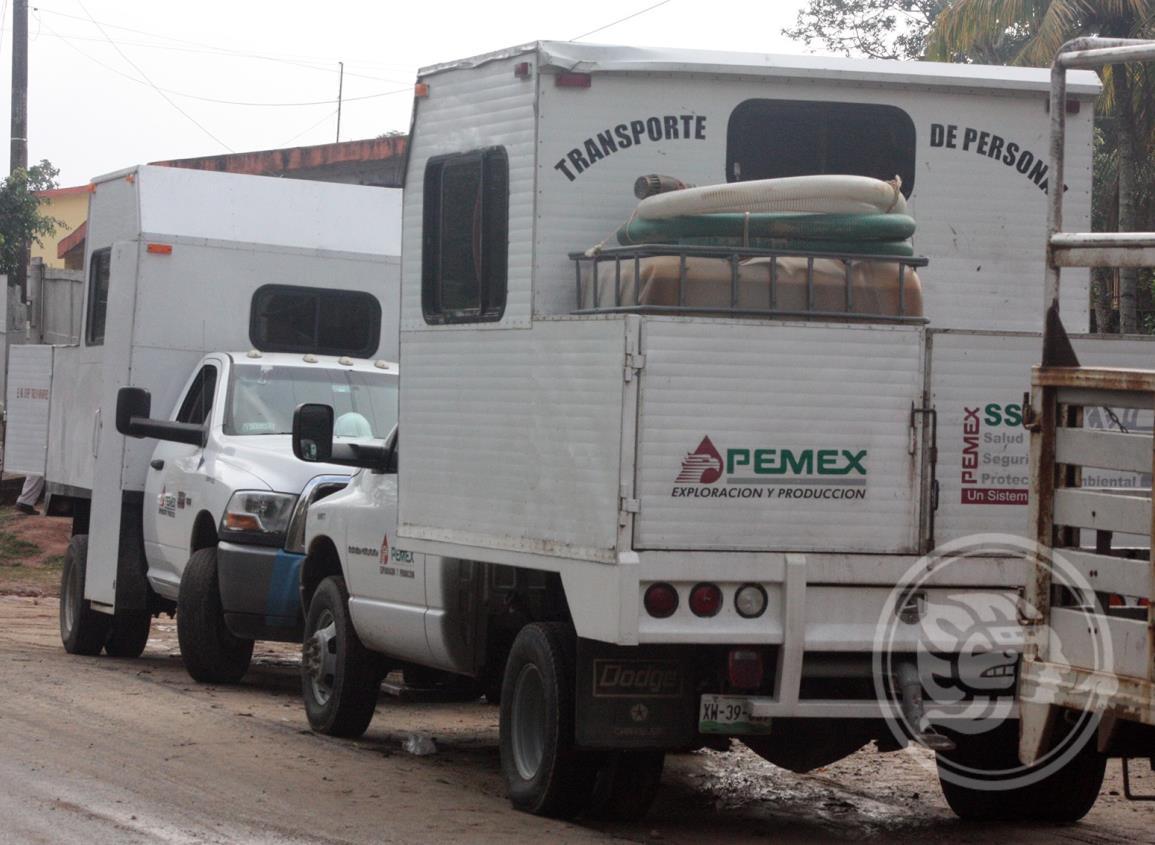 Pemex indaga atraco a empleados en límites de Veracruz y Tabasco