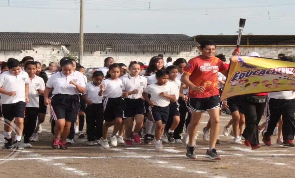Inauguraron los Juegos Deportivos Escolares en su etapa de Sector
