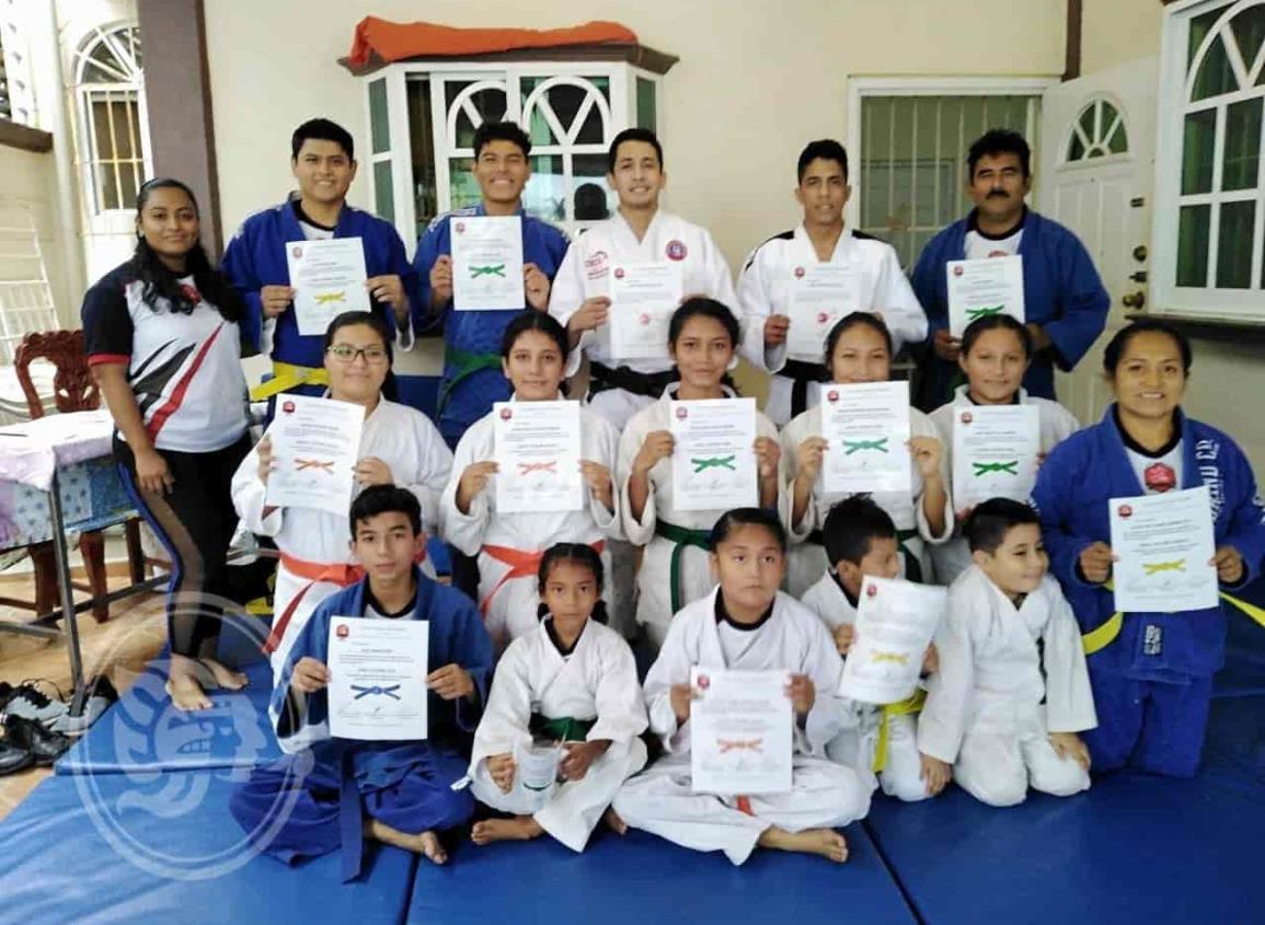 Clubes de Judo de Minatitlán  entre los mejores del Estado