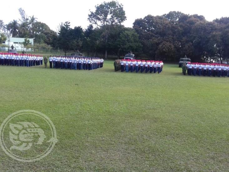Inician jóvenes tuxpeños de la clase 2001 su Servicio Militar