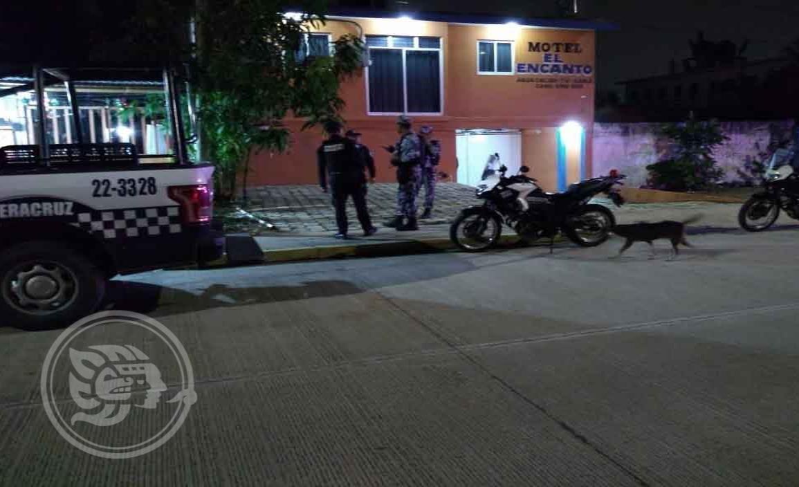 Ejecutan a otra persona al interior de motel en Coatzacoalcos