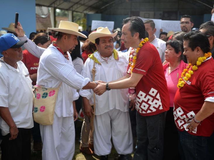 Funcionarios y diputados de Veracruz, en trabajo comunitario fines de semana