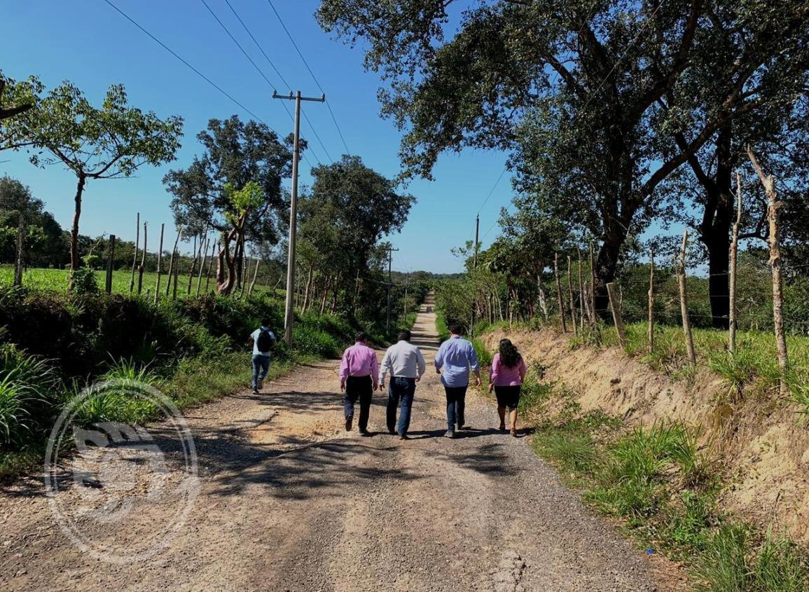 Asfaltarán camino que comunica a San Pedro Mártir y Zaragoza