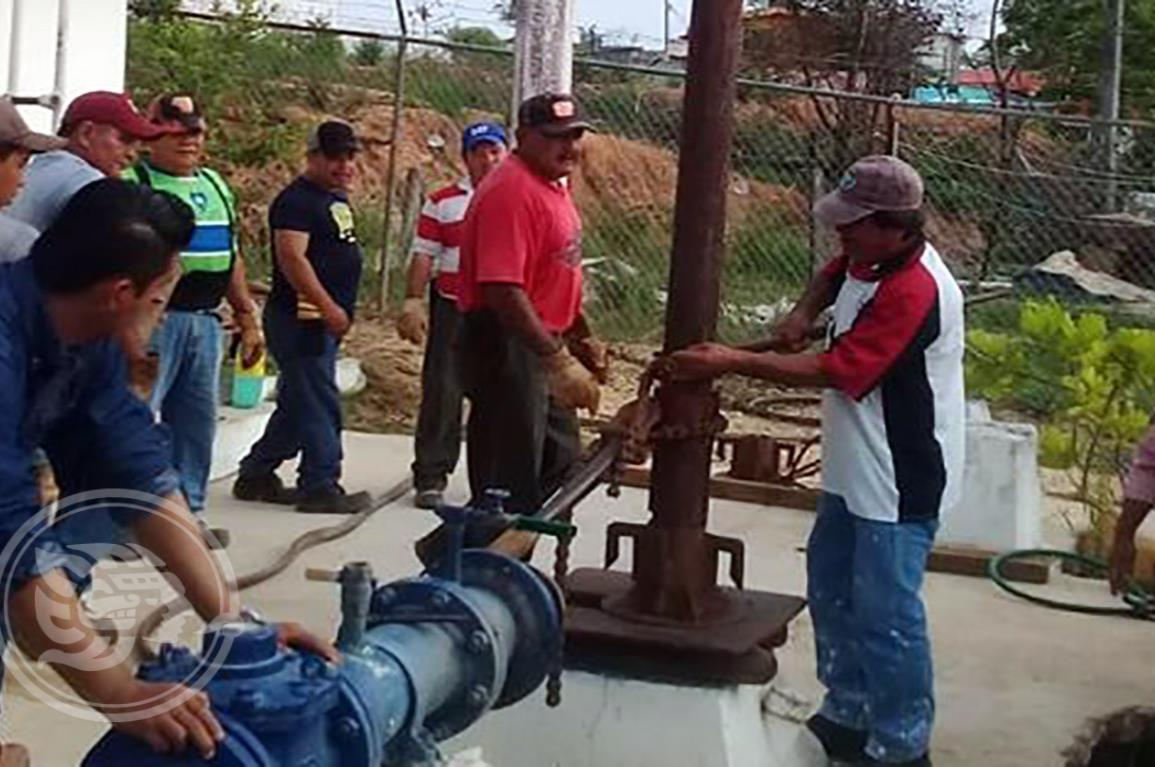 Sin agua por 72 horas, más de 300 familias choapenses