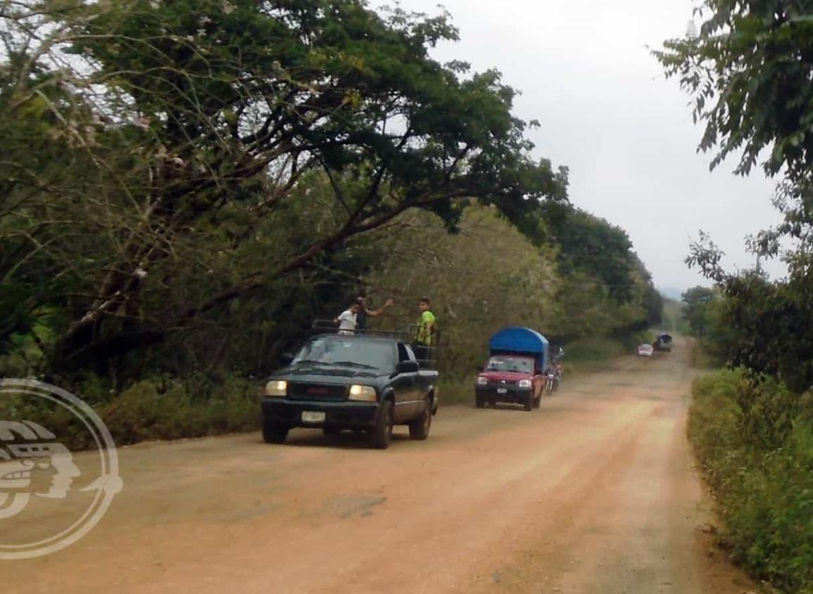 Quieren mejores carreteras en la sierra de Soteapan