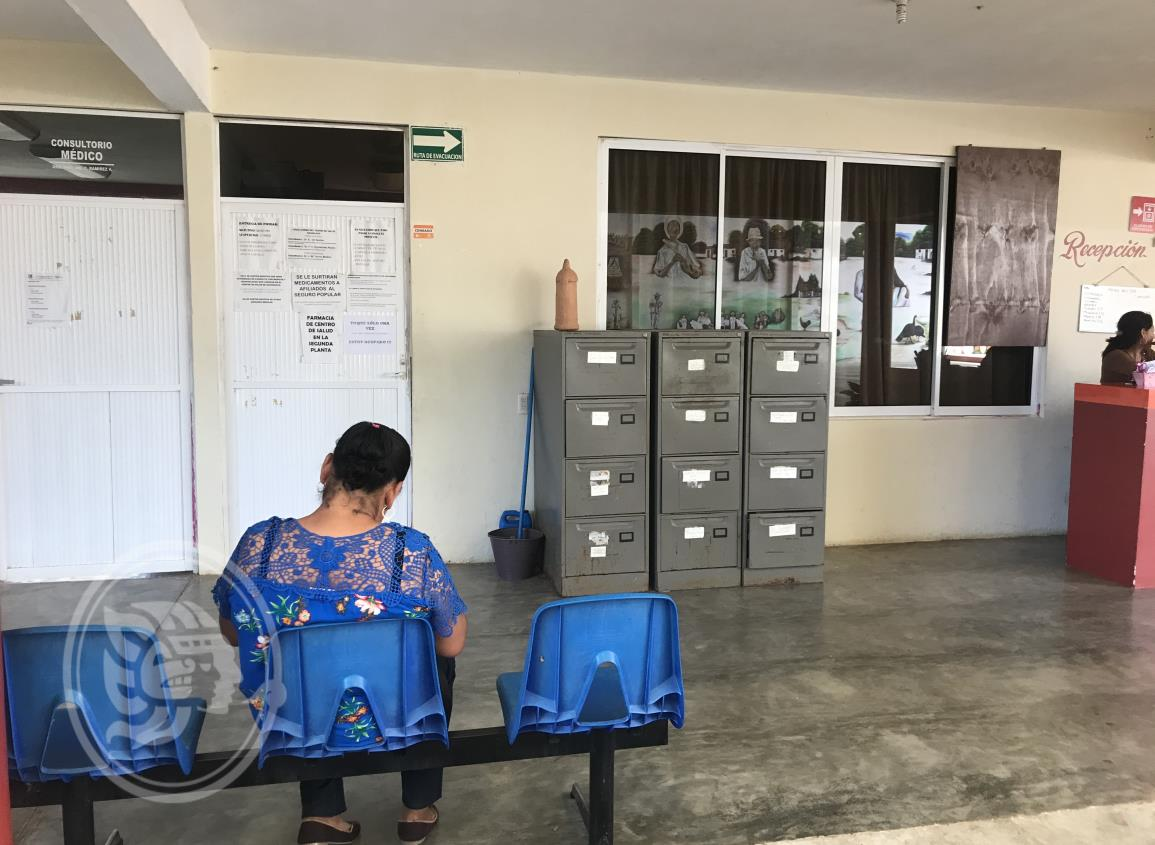 Centro de salud de Soconusco no funcionó una semana