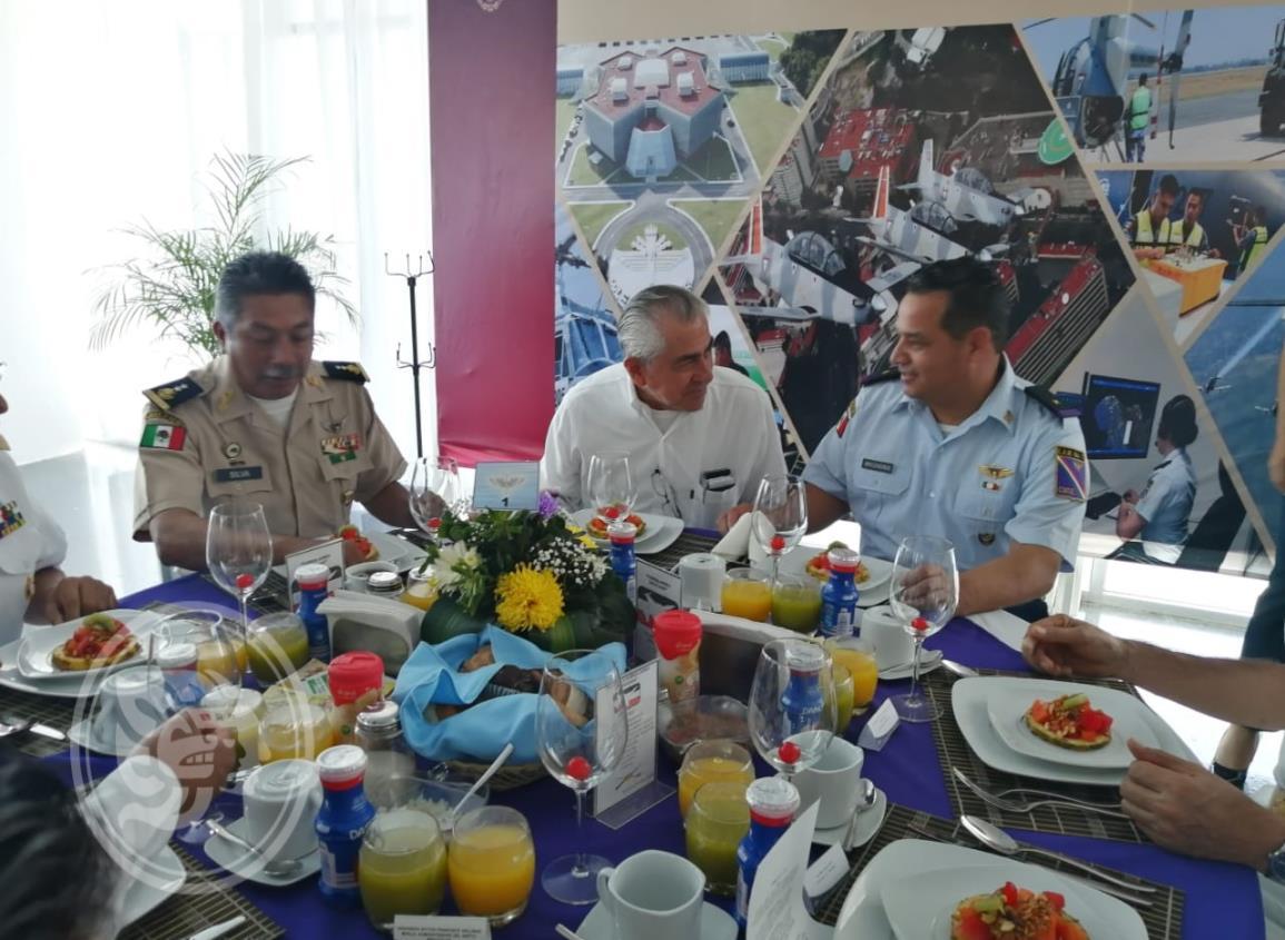 Celebran Día de la Fuerza Aérea Mexicana en Cosoleacaque