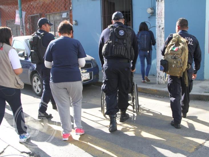 ´Doña Luchita´, de 88 años, es desalojada de su casa en Xalapa