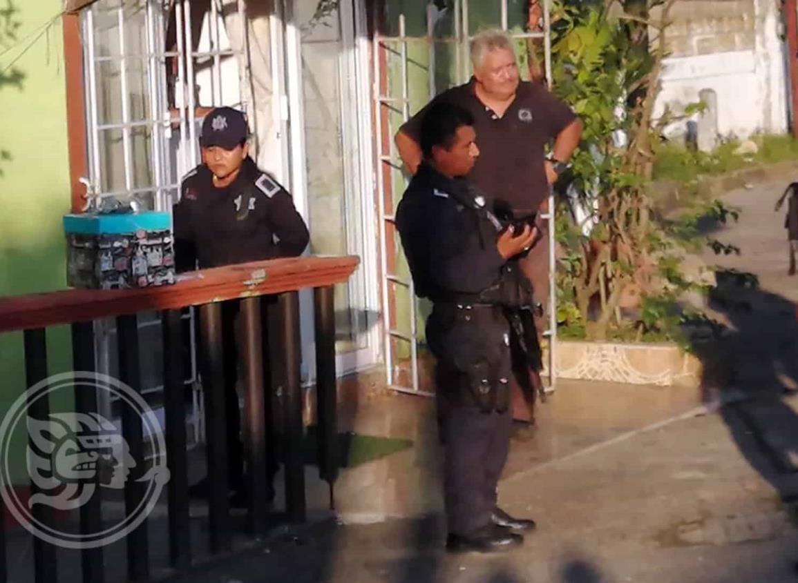 Por sospechosa caja se movilizan policías en Nanchital