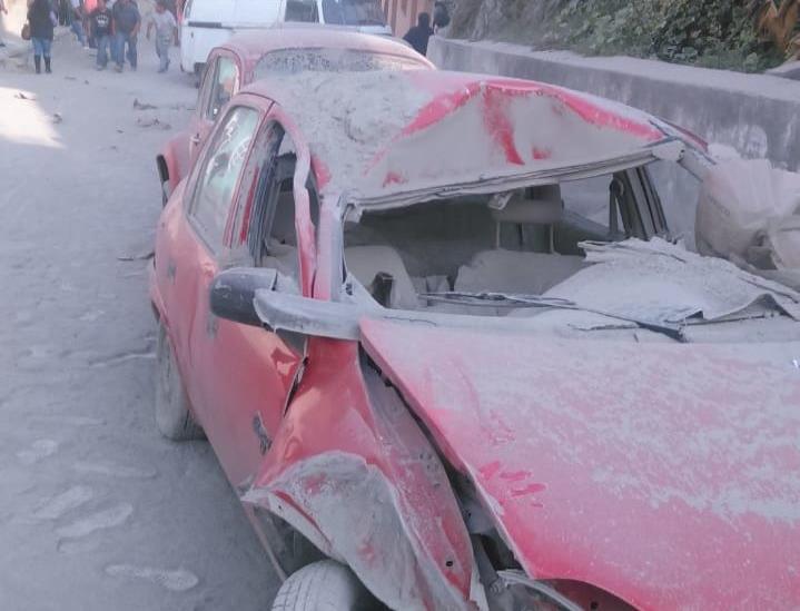 Familias truenan contra Quálitas tras percance en Ixhuacán