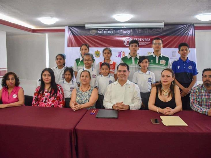 Priorizan en Coatzacoalcos protección de niñas, niños y adolescentes