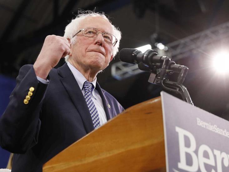 Tras triunfo en New Hampshire, Sanders promete el principio del fin de Trump