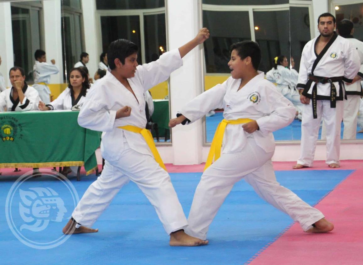 Moo Duk Kwan Coatzacoalcos se alista para su evaluación