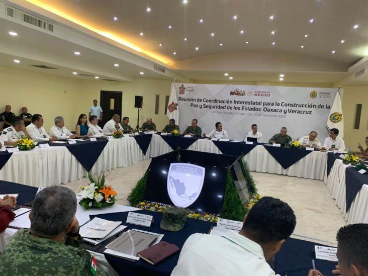 Reforzarán Veracruz y Oaxaca acciones de inteligencia para la construcción de la paz