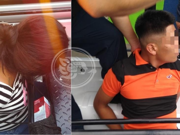 Detienen a dos por robar en negocio de Córdoba