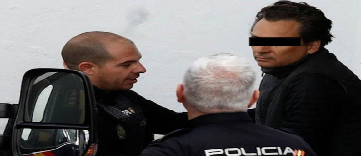 Juez español dicta prisión preventiva a Emilio Lozoya