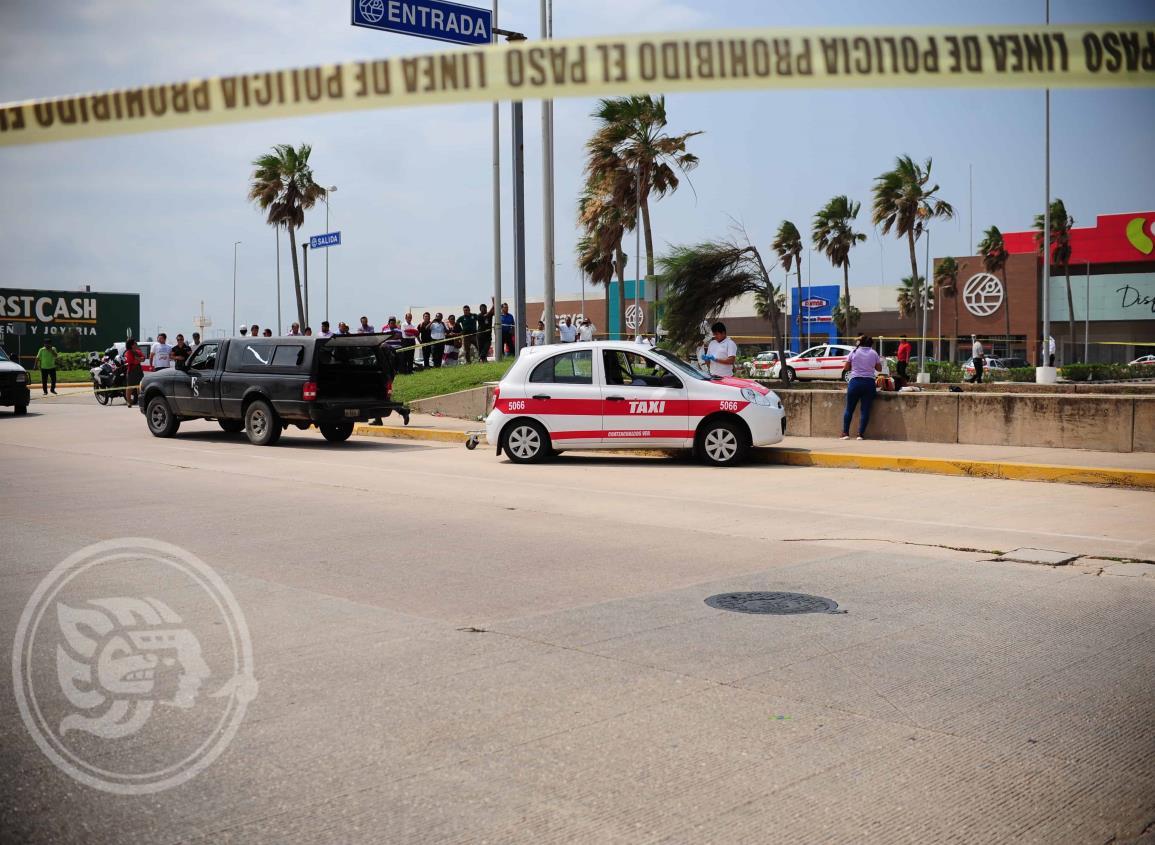 Asesinan a taxista al poniente de Coatzacoalcos