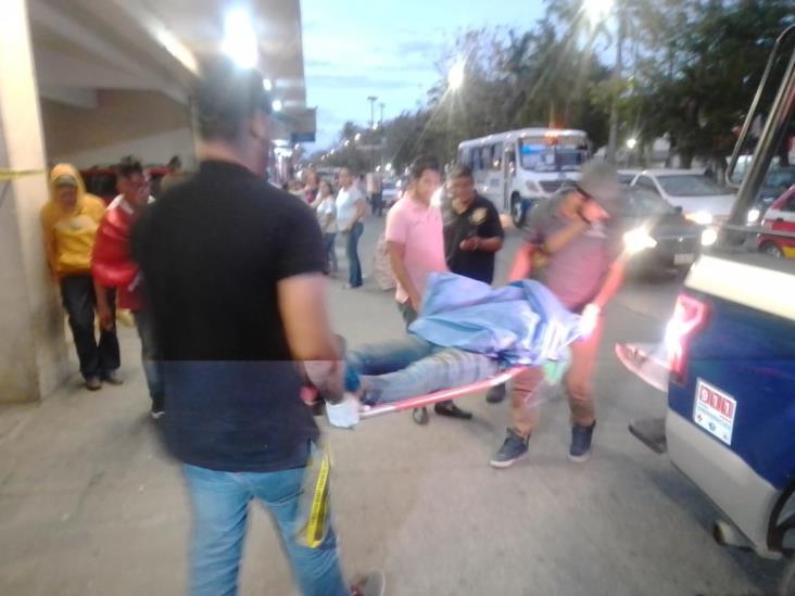 Muere indigente en estacionamiento de sucursal Waldo´s
