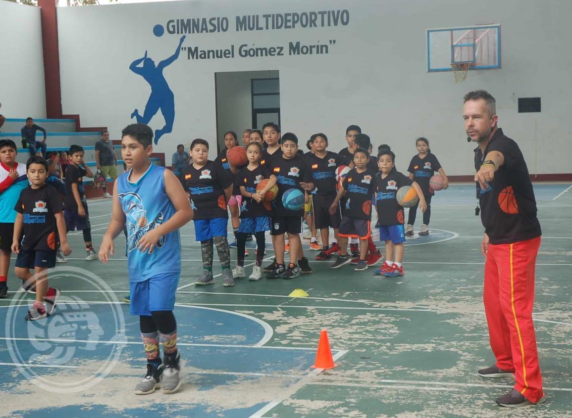 Superó las expectativas la 1a. Clínica Internacional de Basquetbol