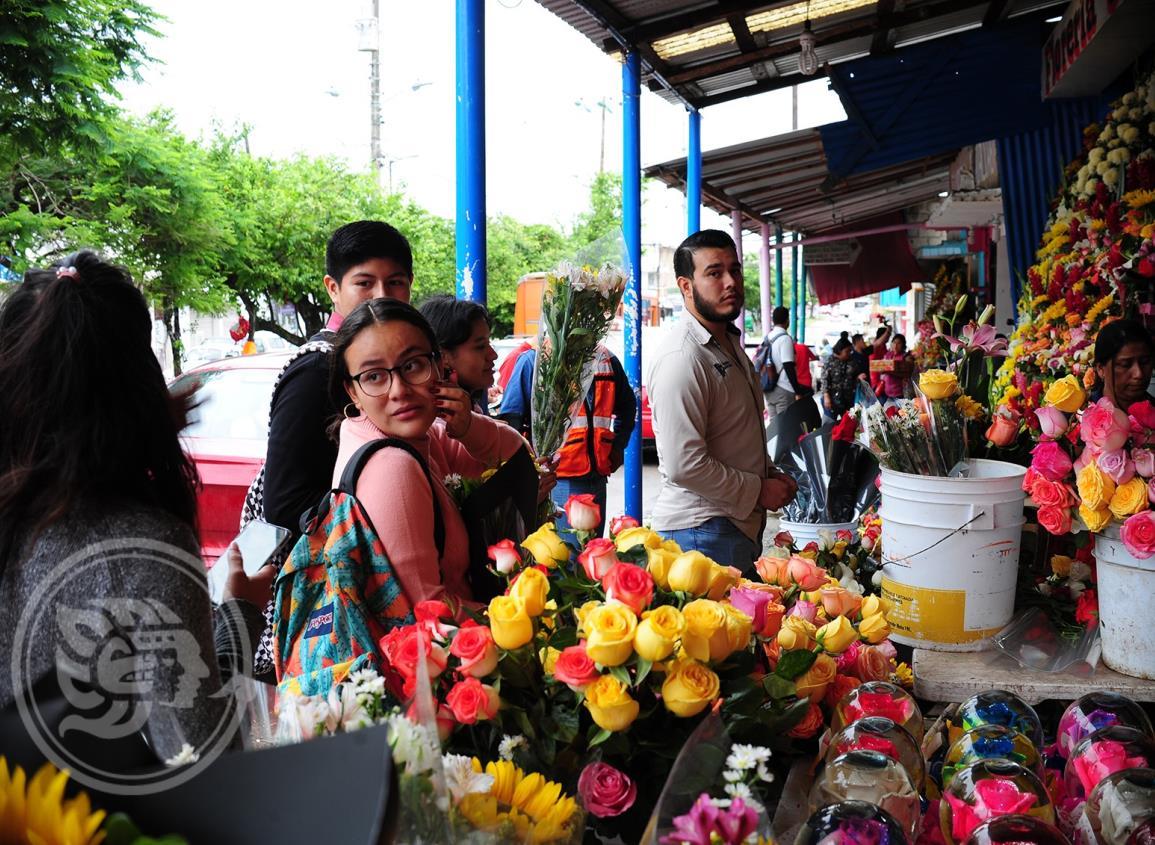 Las flores siempre dejan buenos ingresos en 14 de febrero