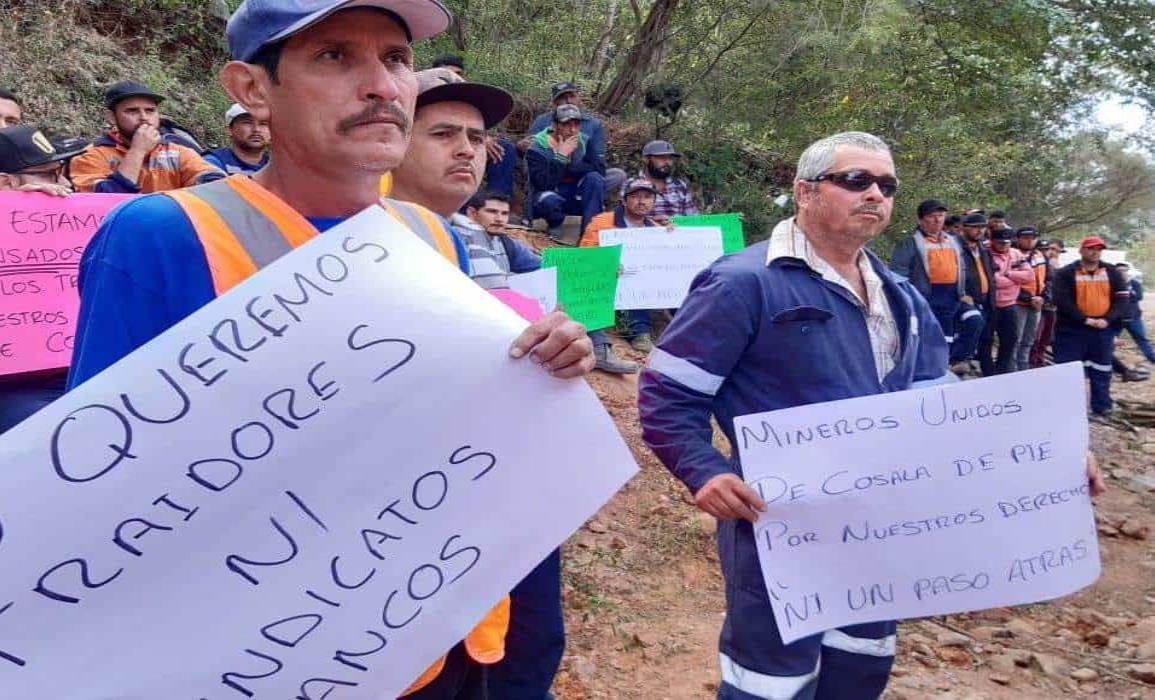 Mineros de Sinaloa piden ayuda al presidente
