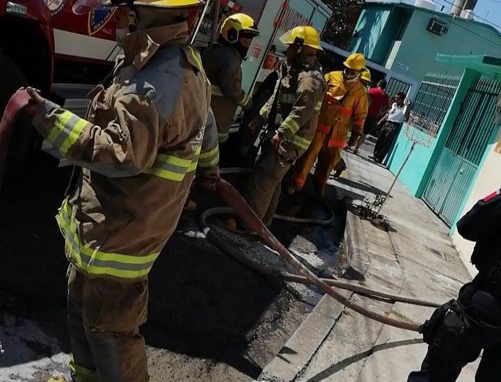 Conato de incendio en vivienda de Boca del Río