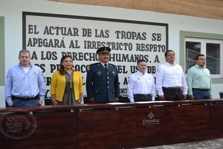 Conmemoran en cuartel de Orizaba el Día del Ejército Mexicano