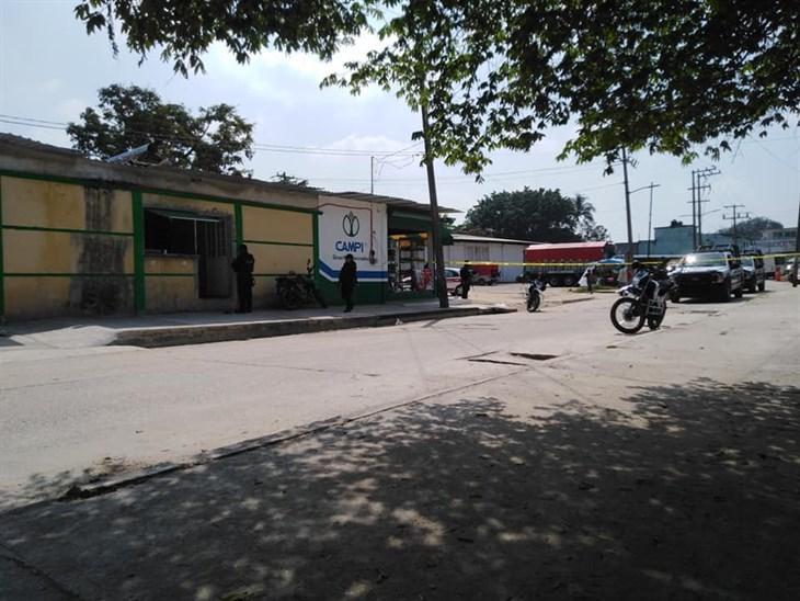Muere trabajador de la tortillería baleado en Las Choapas