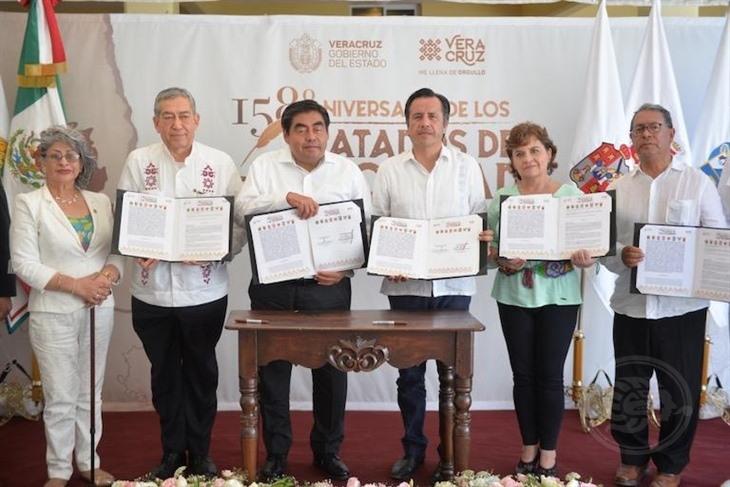 Coordinan acciones de seguridad Veracruz y otros estados