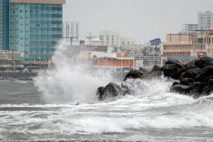 PC Veracruz, sin reportes por afectaciones del FF 40