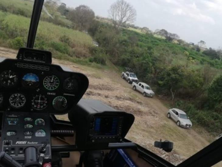 Asegura SSP dos vehículos tras enfrentamiento en Omealca