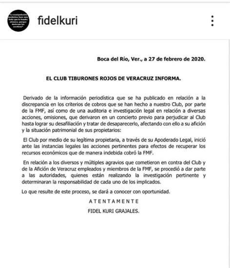 Acusa Fidel Kuri administración fraudulenta de la FMF