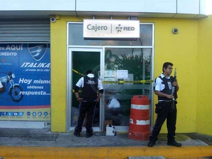 Desconocidos intentan robar cajero en Puente Moreno