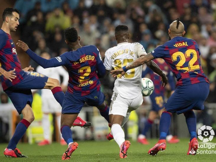 Supera Real Madrid 2-0 al Barcelona