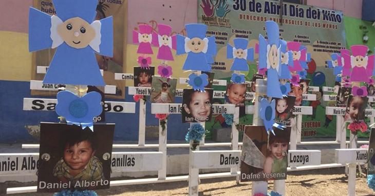 Ocultó IMSS dictámenes médicos de niños lesionadosen Guardería ABC